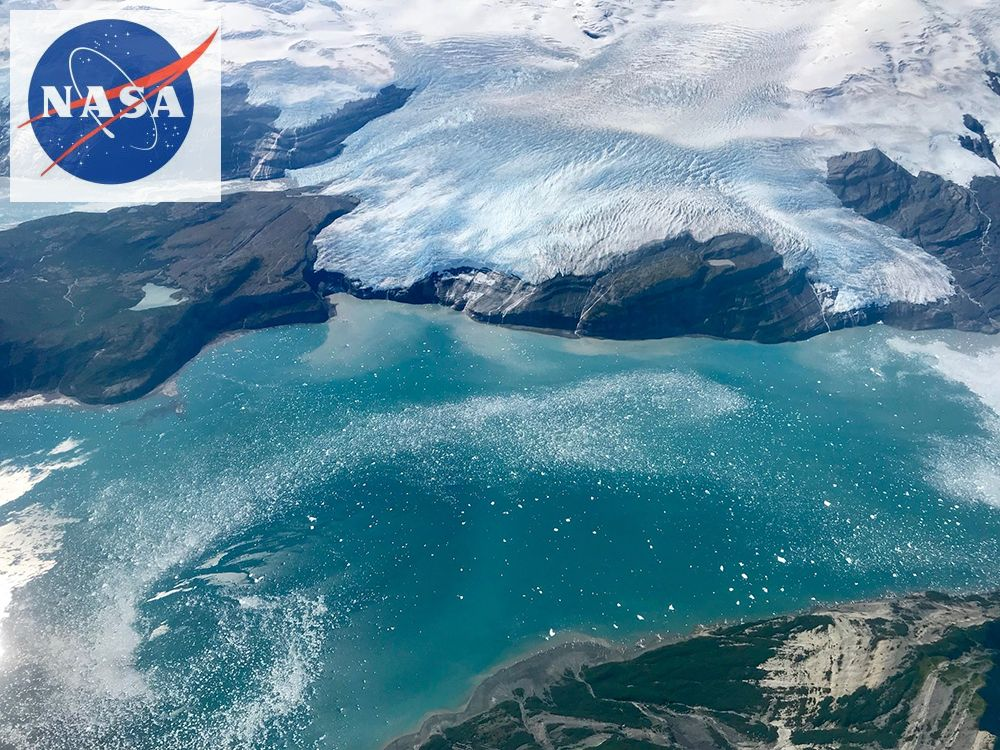 Nasa photo of Icy Bay, Alaska